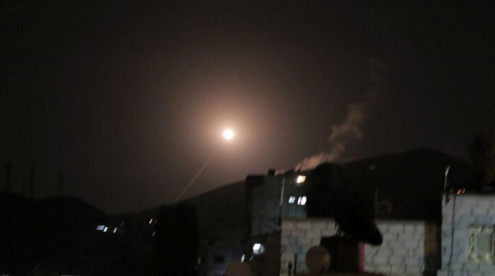 САЩ, Великобритания и Франция удариха Дамаск