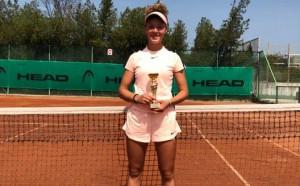 Даниела Димитров загуби финала на Haskovo Cup 2018, българска титла на двойки