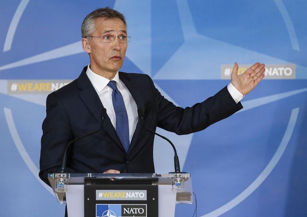 Генералният секретар на НАТО Йенс Столтенберг