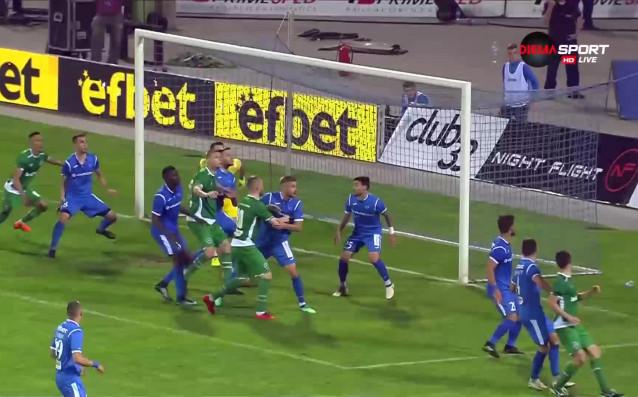 Лудогорец поведе на Левски в 83-ата минута с брилянтен гол
