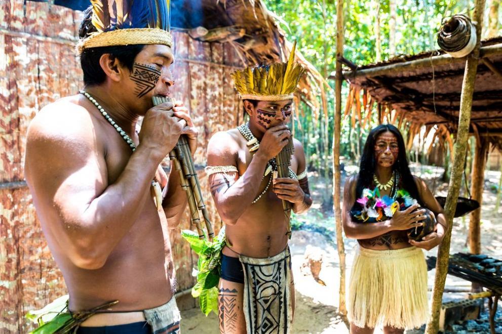 ритуали в Амазонка