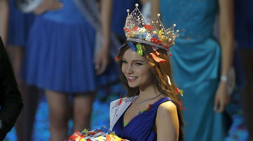 18-годишна красавица е новата Мис Русия (СНИМКИ)