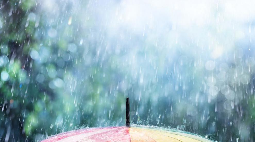 Жълт код за валежи и гръмотевици в част от страната