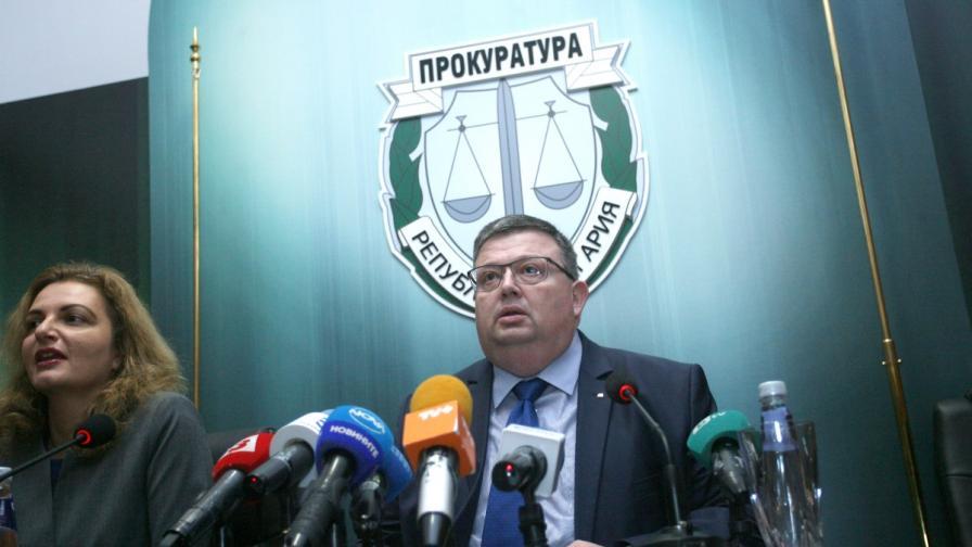 Цацаров в парламента