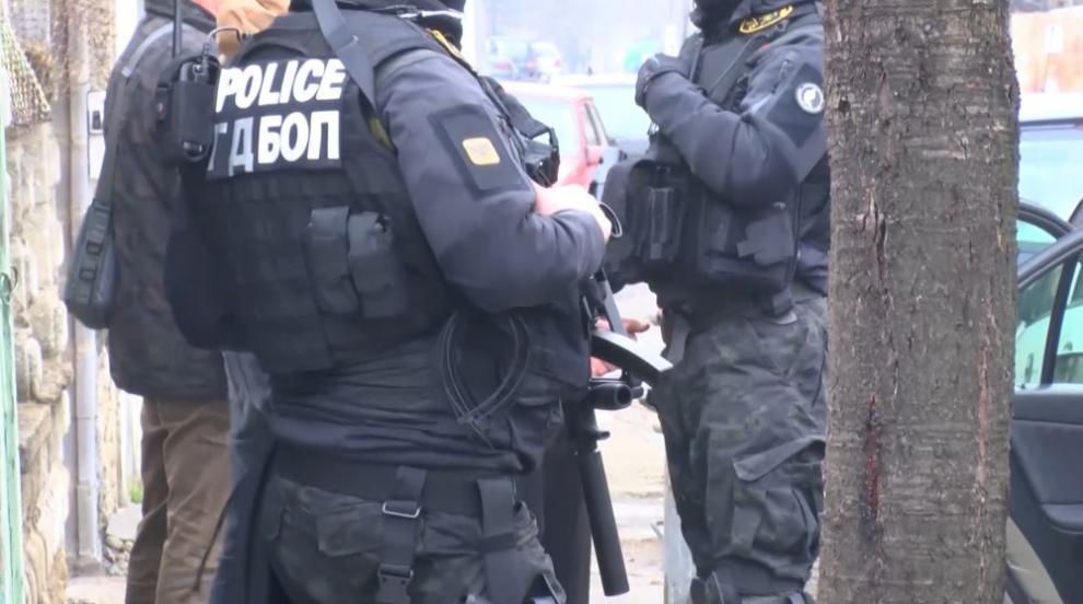 Мащабна акция на ГДБОП разби наркогрупа в Благоевград