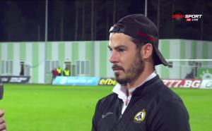 Галин Иванов: Мислим за мача с Ботев, важното е, че бихме