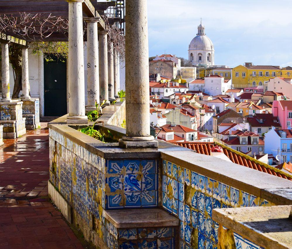 Лисабон е бил европейски център на <strong>търговията сАзия.</strong>