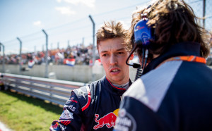 Дани Квят извърши частен тест за Ферари