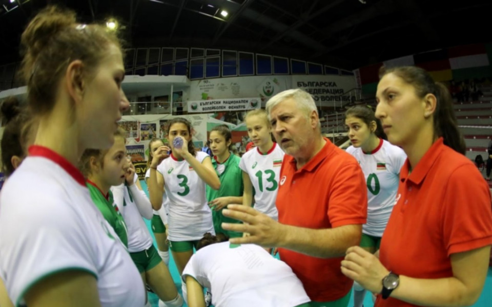 Волейболните ни националки до 17 години загубиха 1/2-финала, играят за бронз