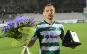 Георги Илиев вече шести по изиграни мачове в елита
