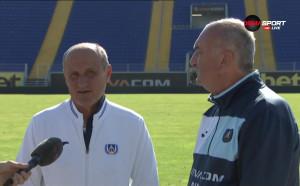 Делио Роси: Мачът с ЦСКА ще започне от 0:0, а не от 2:0