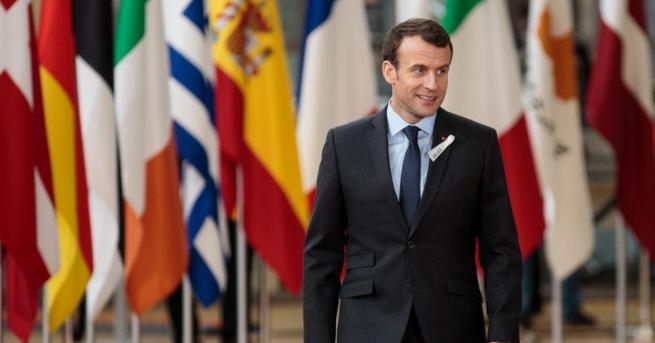 При посещението си в САЩ френският президент Еманюел Макрон ще