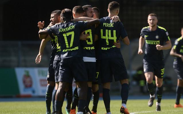 Интер се бетонира на петата позиция в Серия, след като