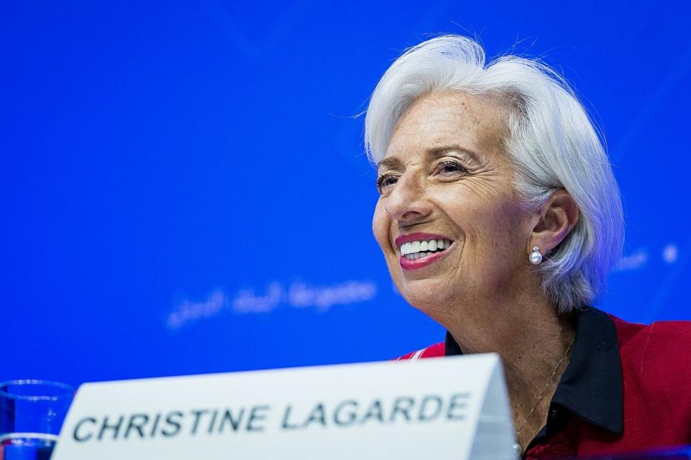 Управляващият директор на МВФ Кристин Лагард