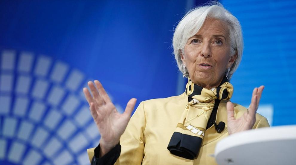 Екипът на Кристин Лагард в ЕЦБ е съставен само от мъже (СНИМКА)