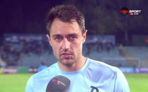 Васил Шопов: Играем за честта си, надявам се да се получи