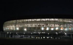 Стадионът в Саранск с първи тест преди Мондиала