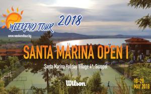 Ударна доза тенис от Weekend Tour в края на май в Санта Марина Созопол