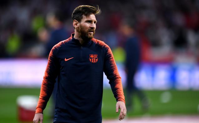 Звездата на Барселонаи националния отбор на Аржентина Лионел Меси е