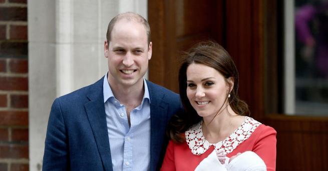 Кръщенето на най-малкия син на принц Уилям и херцогиня Катрин