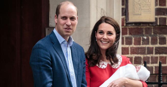 Снимка: Уилям и Кейт планират първия рожден ден на принц Луи