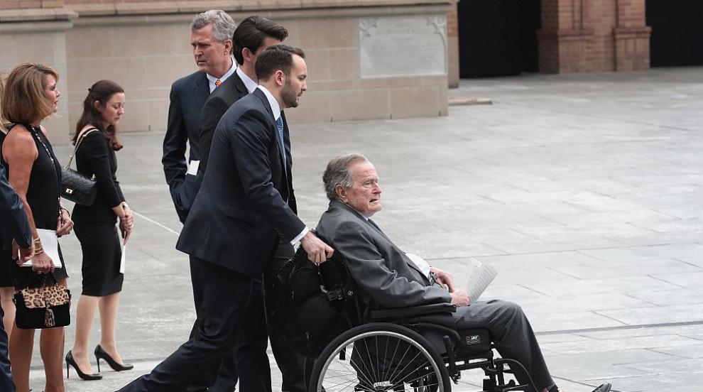 Бившият президент на САЩ Джордж Буш-баща е приет в болница