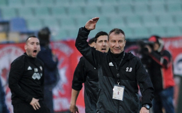 Старши треньорът на ЦСКА Стамен Белчев не очаква неговият тим