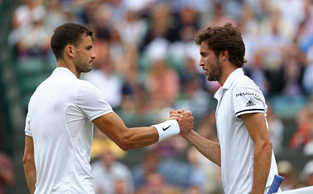 Най-добрият български тенисист Григор Димитров ще стартира срещу французина Жил