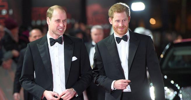 ПринцХари е помолил брат си Уилям да бъде негов кум