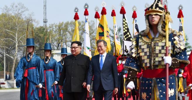 Пролетта може да е дошла на Корейския полуостров, заяви южнокорейският
