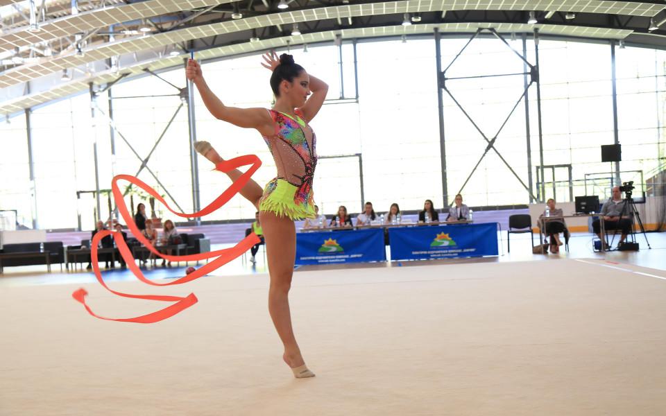 Камчия домакин на три престижни турнира по художествена гимнастика