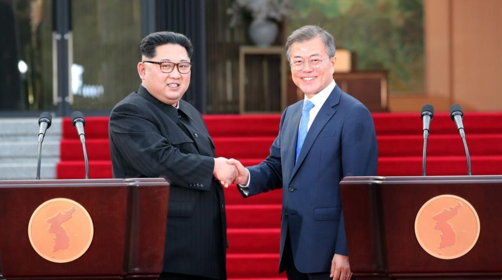 Срещата на върха между двете Кореи ще бъде на 12 или 13 септември