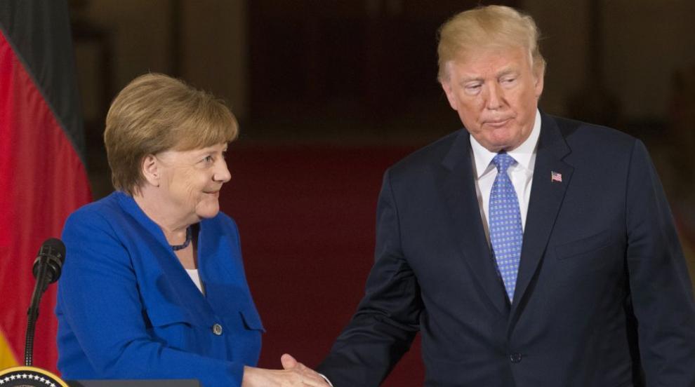 Меркел и Тръмп обсъдиха НАТО и Украйна