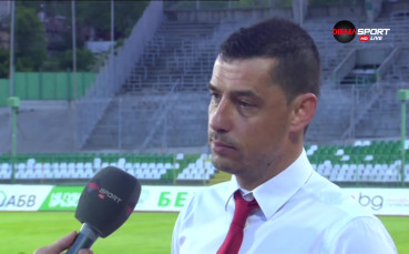 Александър Томаш: Левски ни надигра по всички показатели