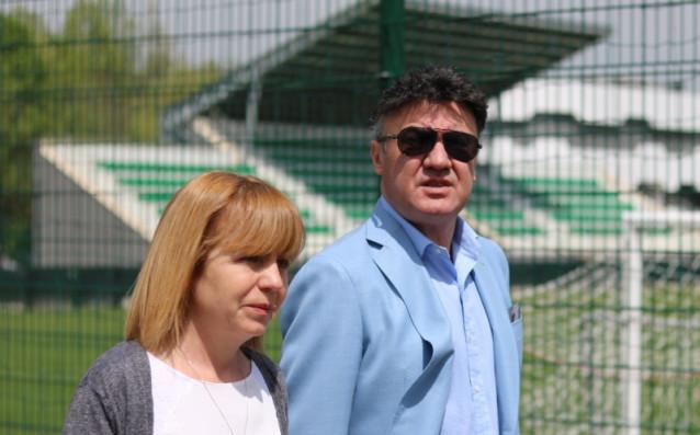 Йорданка Фандъкова и Боби Михайлов<strong> източник: bfunion.bg</strong>