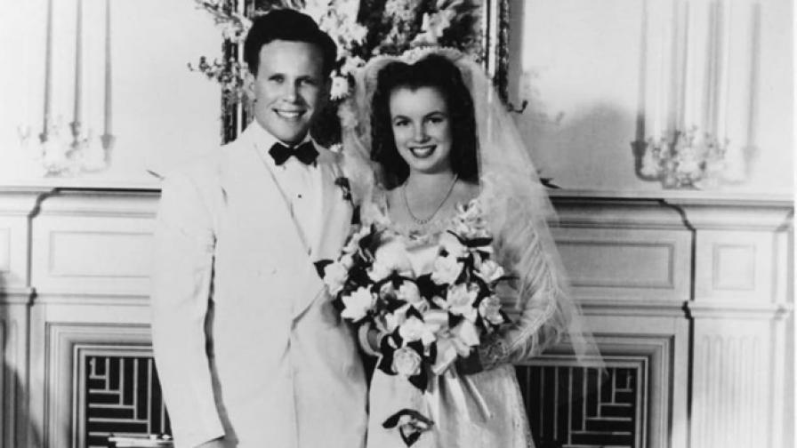 Сватбата на 16-годишната Мерилин Монро