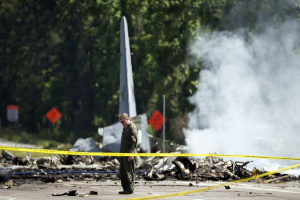 самолетна катастрофа в Джорджия