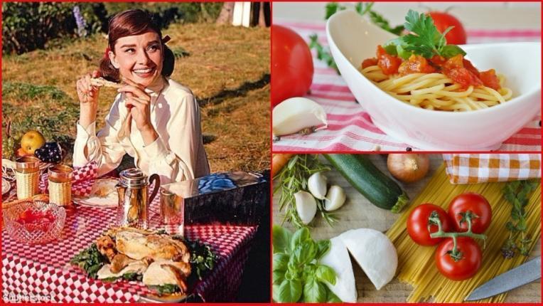 Любимата рецепта на иконичната Одри Хепбърн за спагети с доматен сос