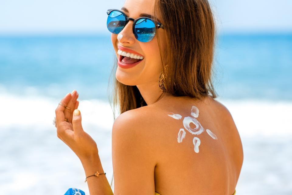 лято тяло плаж