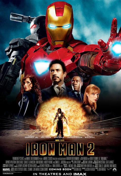 """- 10. Iron Man 2 / """"Железният човек 2"""" (2010) – Втората лента, посветена на приключенията на Тони Старк, го открива в по-сериозна конфронтация с лични..."""