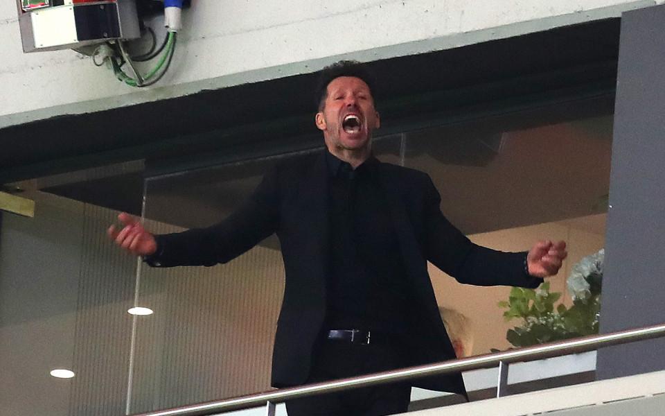 Симеоне изведе Атлетико до шести трофей
