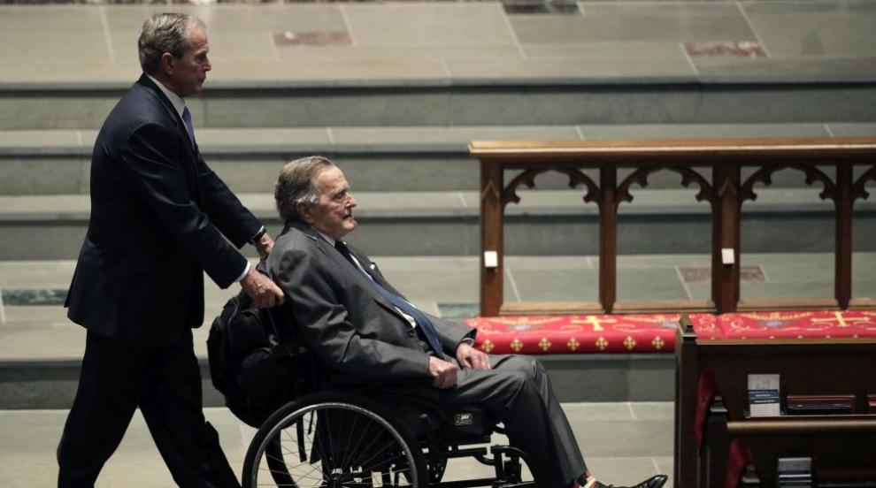 Изписаха Джордж Буш-старши след 13 дни в болница