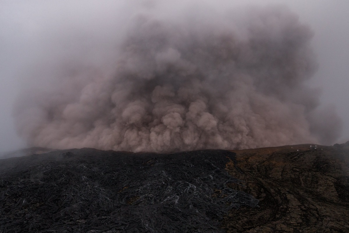 изригването на вулкана Килауеа