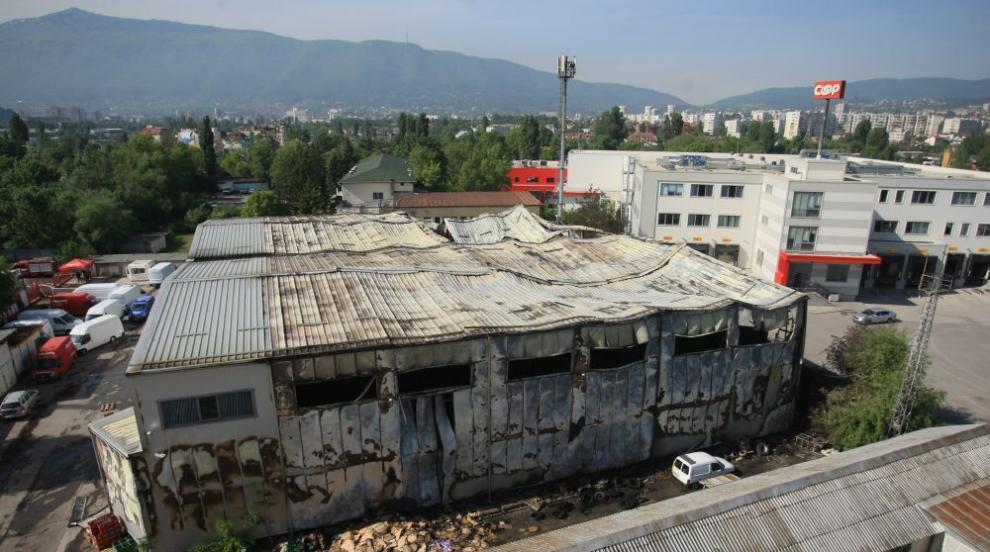 Собственикът на изгорелия склад: Все още не се знае нищо за пожара