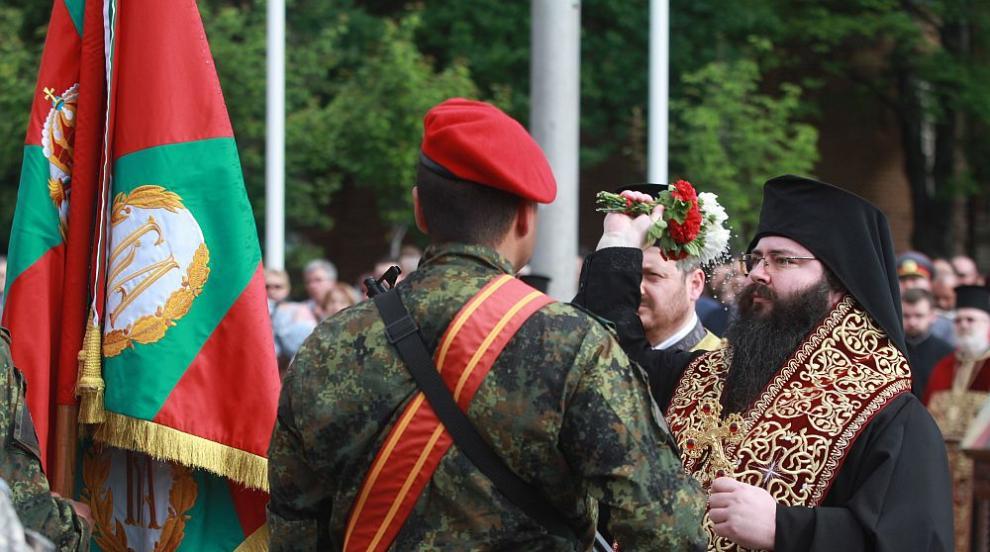 Тържествен водосвет на бойните знамена на Българската армия (СНИМКИ)
