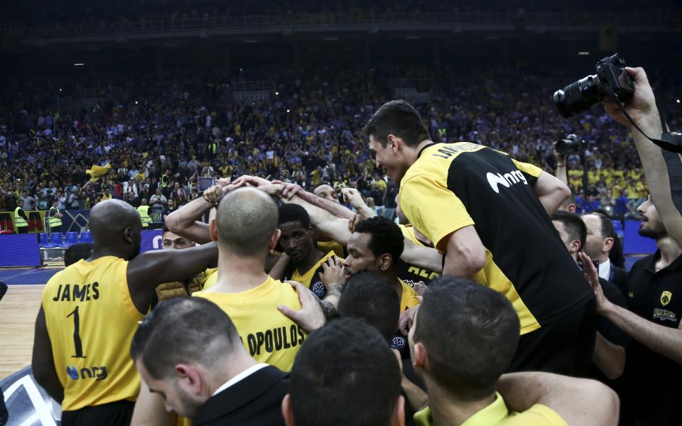 АЕК Атина спечели баскетболната Шампионска лига