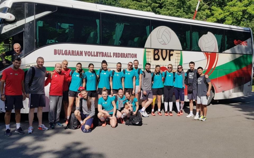Волейболистките на България гостуват на Сърбия за две контроли