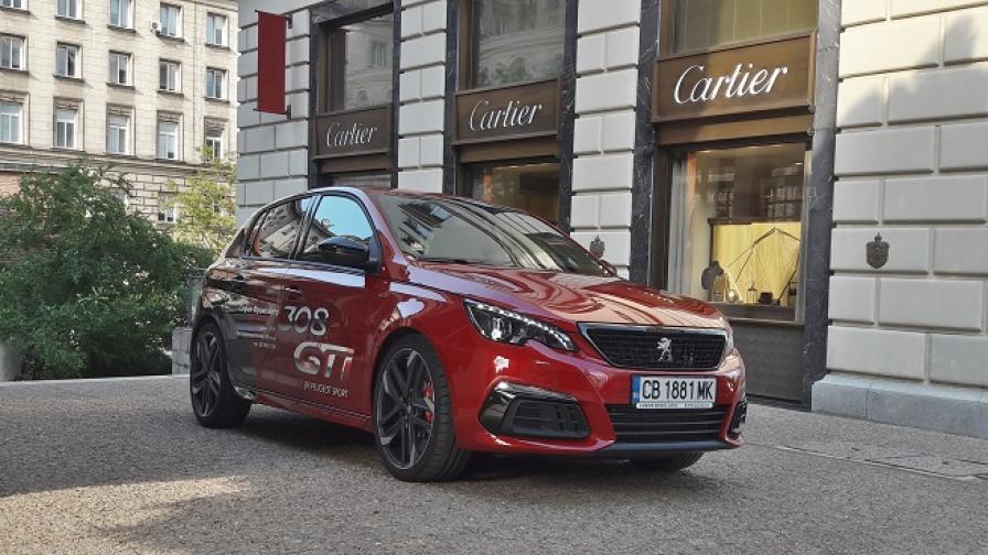 Ювелирна изработка за Peugeot 308 GTi (тест драйв)