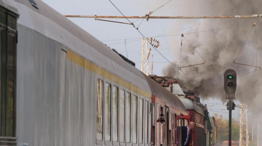 Бърз влак излезе от релсите между Своге и Ребърково