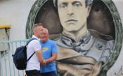 Спас Русев посети тренировката на Левски преди финала за Купата<strong> източник: LAP.bg, Илиан Телкеджиев</strong>
